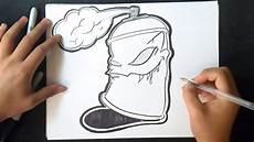 Comment Dessiner Bombe De Peinture Graffiti