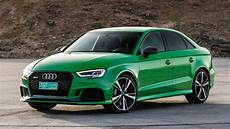 2018 Audi Rs3 Sedan Drive The No Compromise Compromise