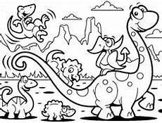 Einfache Malvorlage Dinosaurier Dinoausmalbilder Dinosaurier Bilder Zum Ausmalen