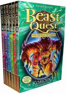 Beast Quest Malvorlagen Novel Beast Quest Series 6 The World Of Chaos 31 36 6 Books