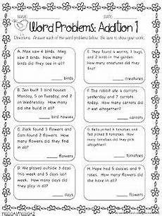 word problems addition includes clocks on the link