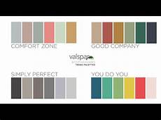 valspar colors of the year 2016 youtube