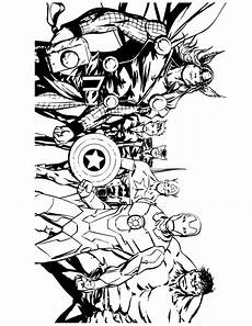 free printable marvel comic coloring pages coloring
