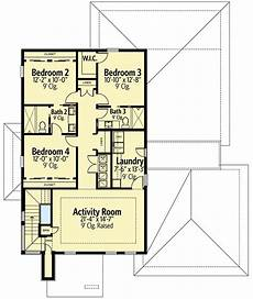 upstair house plans modern house plan with upstairs activity room 82243ka