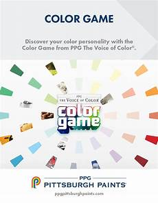 pittsburgh paint color sense game ppg pittsburgh paints play our color game