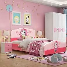 costway kids children upholstered platform toddler bed bedroom furniture pattern walmart