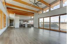 an open floorplan highlights a minimalist cool modern house plan designs with open floor plans