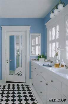 Light Yellow Bathroom Ideas by Adorable Light Blue Wall Colorful Bathroom With White
