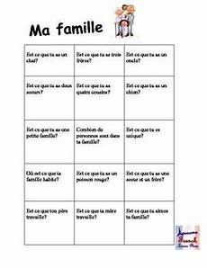 worksheets la famille 18941 ma famille interactive class activity fsl class activities lessons how to speak