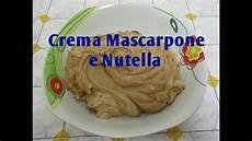 crema mascarpone e nutella di benedetta crema mascarpone e nutella youtube