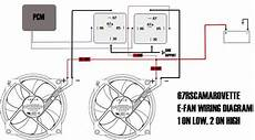 fan relay wiring diagram pcm ls1 pcm controlled fans with vintage air trinary switch ls1tech camaro and firebird forum
