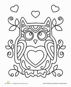 owl worksheet education com