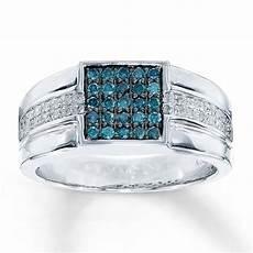mens blue diamond wedding rings wedding rings