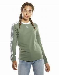 sleeve shirts for adidas originals womens 3 stripes sleeve t shirt