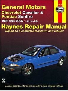 best car repair manuals 1996 pontiac sunfire transmission control general motors chevrolet cavalier pontiac sunfire 1995 2005 1563928140 9781563928147 haynes