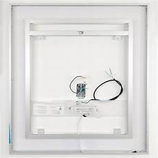 front lighted led bathroom vanity mirror 40 quot wide 40