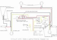 Tech Dome Light Circuit Diagram