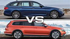 2018 bmw 5 series touring vs 2017 volkswagen passat
