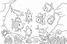 Unterwasserwelt Malvorlagen Ausmalbilder Unterwasserwelt Kostenlos Malvorlagen Zum
