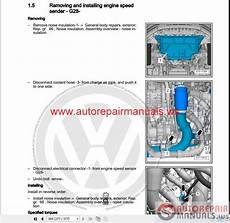 auto repair manuals volkswagen touran 2016 workshop manuals