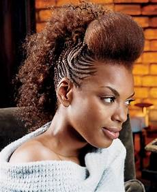 Mohawk Hairstyles For Black With Weave
