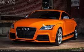 Find Of The Day 2013 Audi TT RS In Solar Orange