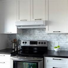 Kitchen Peel And Stick Backsplash Smart Tiles Metro 11 56 In W X 8 38 In H Peel