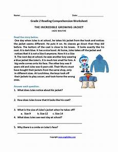 reading time worksheets for grade 2 3168 growing jacket second grade reading worksheets 2nd grade reading worksheets