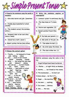 spelling present tense verbs worksheets 22603 simple present tense worksheet free esl printable worksheets made by teachers ingl 233 s