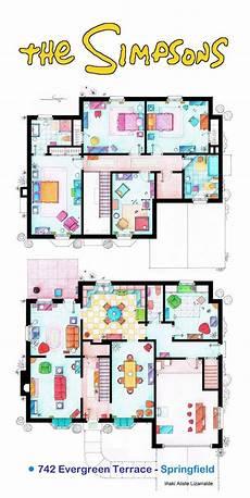 the simpsons house floor plan so sehen die wohnungen deiner lieblingsserien aus tv
