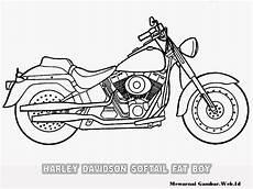 Mewarnai Gambar Motor Harley Davidson Mewarnai Gambar