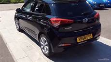 Hyundai I20 Schwarz - hyundai i20 t gdi premium black 2016