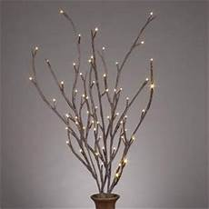 com everlasting glow led 39 quot electric brown wrapped lighted faux branch 72 clear rice