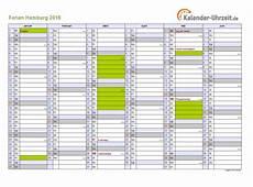 Ferien Hamburg 2016 Ferienkalender Zum Ausdrucken