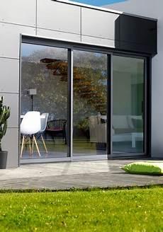 baie vitrée coulissante baie vitr 233 e coulissante grande largeur porte fenetre