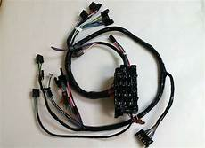 1967 1968 chevy up truck dash wiring harness with warning lights ebay