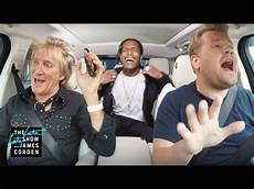 rod stewart kinder rod stewart a ap rocky carpool karaoke