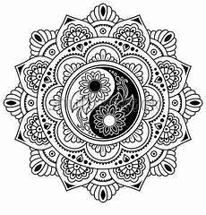 Malvorlagen Yin Yang Yin Yang Yin Yang Malvorlagen Mandala