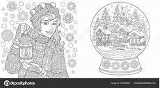 Malvorlagen Winter Erwachsene Malvorlagen Malbuch F 252 R Erwachsene Ausmalbilder Mit Winter
