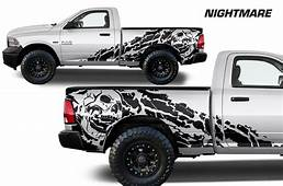 Dodge Ram Truck 1500/2500 2009 2014 Custom Vinyl Decal