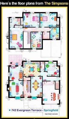 the simpsons house floor plan the floor plans for the simpson s family home i 241 ake
