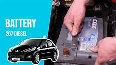 batterie 207 hdi how to replace the car battery 207 1 4 hdi