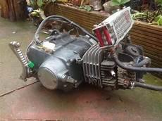 pit bike motor 125cc pit bike engine running