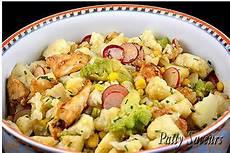 Recette De Salade De Choux Fleurs Et Poulet