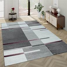 teppich kurzflor grau kurzflor teppich karo muster lila grau teppichcenter24
