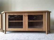 Ikea Oak Skoghall Corner Tv Unit In Abingdon