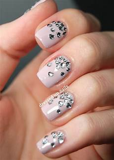 nail art designs rhinestones how you can do it at home