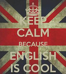 en anglais keep calm because is cool poster ultra keep