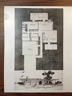 ucla housing floor plans eichler homes floor plan 943 original at ucla library