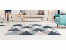 tapis 160x230 cm helsik bleu vente de tapis salon et